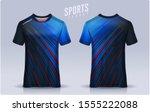 t shirt sport design template ... | Shutterstock .eps vector #1555222088