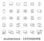 smart devices outline vector...