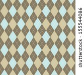 argyle vector abstract pattern... | Shutterstock .eps vector #155544086