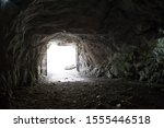 Entrance From The Rocky Cave...