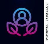 leaf human nolan icon. simple...