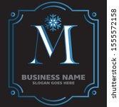 premium design logo with letter ...   Shutterstock .eps vector #1555572158