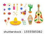 Mexican Day Of The Dead Symbol...