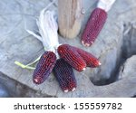 Small Red Corn Cobs