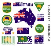 australia,badge,banner,circle,continent,decorative,design,drawing,element,emblem,fashion,flag,football,graphic,icon
