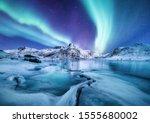 Aurora Borealis  Lofoten...