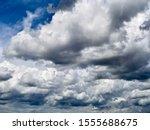 Beautiful Thunderclouds. Fluffy ...
