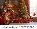 Interior Christmas. Magic...