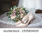 Brides Wedding Shoes And...