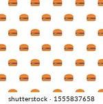 burger background seamless.... | Shutterstock .eps vector #1555837658