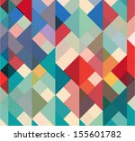 abstract geometric background... | Shutterstock .eps vector #155601782