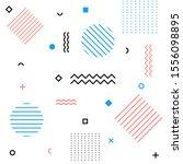 abstract modern geometric... | Shutterstock .eps vector #1556098895