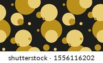 simple gold black circle modern ... | Shutterstock .eps vector #1556116202