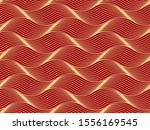 the geometric pattern with wavy ... | Shutterstock .eps vector #1556169545