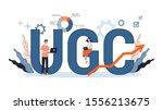 vector illustation for ugc... | Shutterstock .eps vector #1556213675