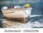 A Boat Moored On The Lerryn...