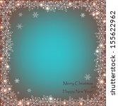 elegant christmas card . vector ...   Shutterstock .eps vector #155622962