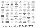 collection of vintage patterns. ... | Shutterstock .eps vector #1556312972