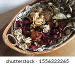 Dried Roses  Leaves And Exotic...