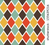 modern ikat tribal fashion... | Shutterstock .eps vector #155639216