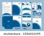 corporate identity set.... | Shutterstock .eps vector #1556414195