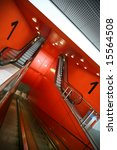 red escalator | Shutterstock . vector #15564508