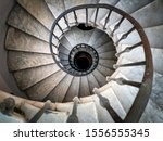 Ancient Spiral Staircase With...