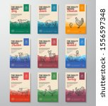 fine quality organic vector... | Shutterstock .eps vector #1556597348