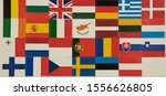 stickers of flags of the...   Shutterstock . vector #1556626805