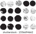 big collection of grunge post... | Shutterstock .eps vector #1556694662