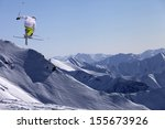 Freestyle Ski Jumper With...