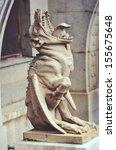 Statue Of A Chimera Gargoyle