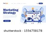 marketing strategy vector...