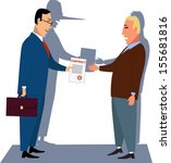 misleading contract.... | Shutterstock .eps vector #155681816