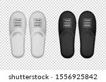 vector realistic white and... | Shutterstock .eps vector #1556925842