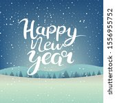 happy new year and merry...   Shutterstock .eps vector #1556955752
