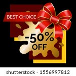 shopping stickers or label big... | Shutterstock .eps vector #1556997812