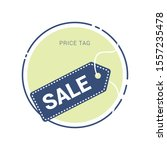 sale tags and labels  template... | Shutterstock .eps vector #1557235478