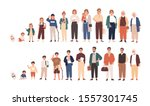 human life cycles vector... | Shutterstock .eps vector #1557301745
