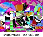 abstract design with art and...   Shutterstock . vector #1557330185