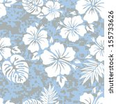 hawaiian aloha shirt seamless... | Shutterstock .eps vector #155733626