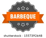 barbeque isolated seal sign.... | Shutterstock .eps vector #1557392648