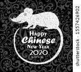 happy new year  2020  chinese...   Shutterstock .eps vector #1557426902