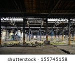 Disused Factory In Magdeburg
