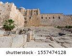 Southern Wall Of Old Jerusalem...