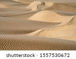 desert sand dunes at sunset view | Shutterstock . vector #1557530672