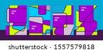 cover design set. modern and... | Shutterstock .eps vector #1557579818