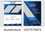 design flyer company vector... | Shutterstock .eps vector #1557579872