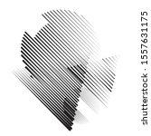 speed lines in arrow form .... | Shutterstock .eps vector #1557631175