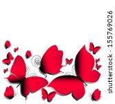 butterflies design | Shutterstock . vector #155769026